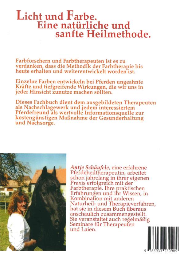 Pferde - Mit Farben heilen - Europäische Penzel-Akademie